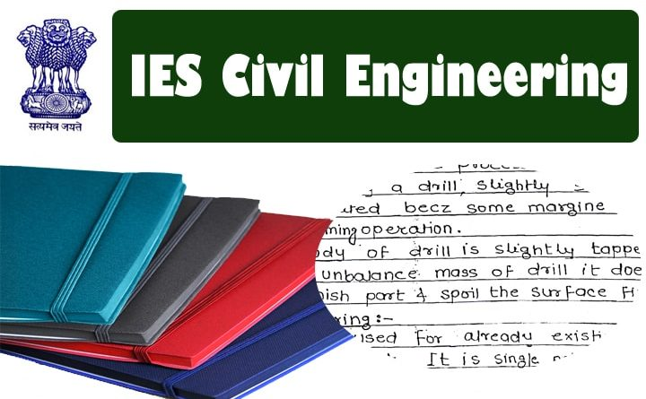 MADE EASY Handwritten ies civil