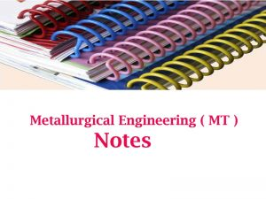 Made Easy Metallurgical Engineering notes