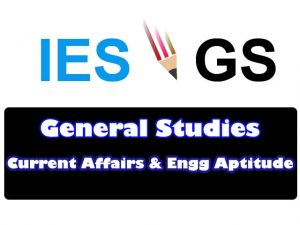 Current Affairs GK GS for ies