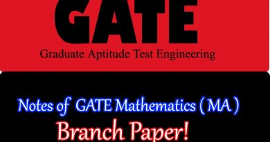 GATE Mathematics ( MA )