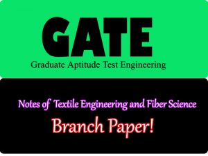 Textile Engineering and Fiber Science( TF)