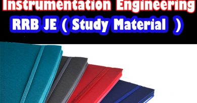 Civil Engineering RRB JE Complete Study Material-Handwritten