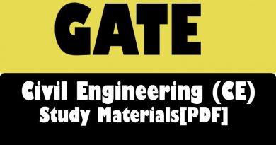 gate civil engineering notes