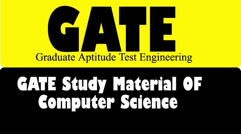 The Best GATE Study Material for Computer Science