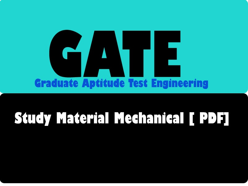 Engineering pdf mechanical material for gate