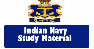 Indian Navy Study Material