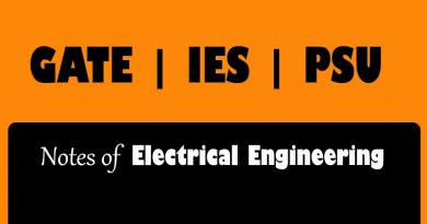 Made Easy Class Notes [ EE ]  Electrical Engineering