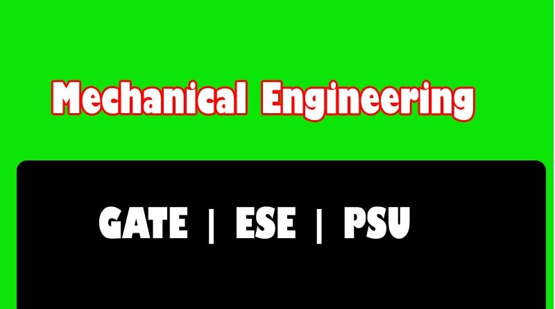 Made Easy Class Notes Mechanical Engineering