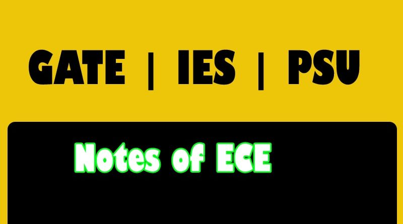 Made Easy Class Notes ece