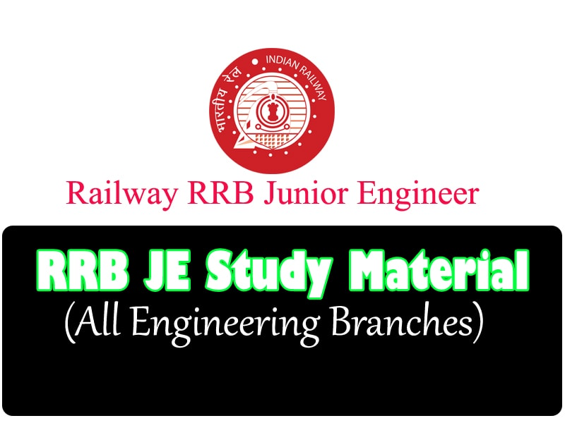 The Best RRB JE Study Material (All ENGG Branches) Download