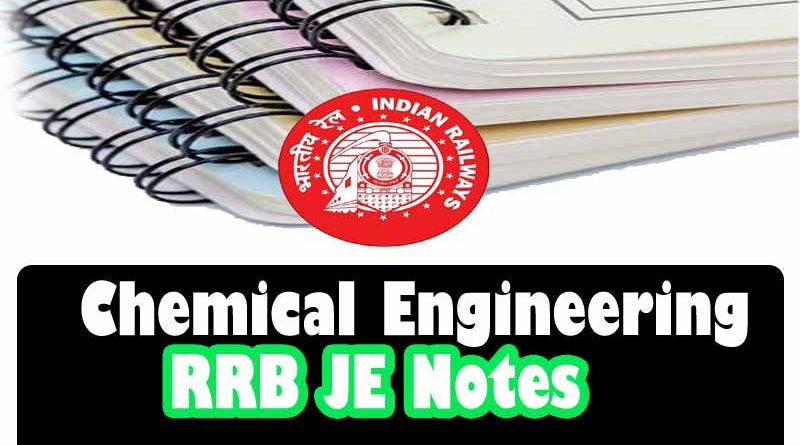 Chemical-Engineering-RRB-JE study material