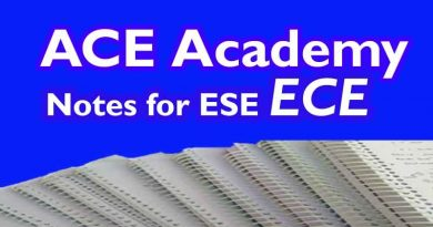 ACE Academy Notes ECE Electronics ENGG for ESE [Pdf]