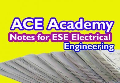 ACE Academy Notes for ESE Electrical EE [Pdf] Download