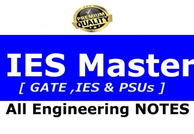 IES Master Toppers Study Materials