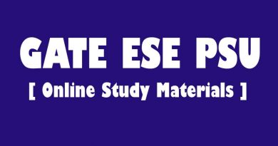 GATE Classes Online Study Materials