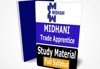 MIDHANI Trade Apprentice Recruitment The Best Book PDF